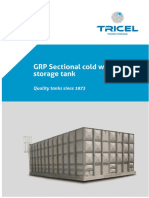 Sectional Water Storage Tank Manual1