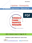 Research Updates Homeopathy Vol-4-issue-4