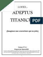 CODEX - Adeptus Titanicus v.1.0
