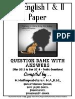 10th Eng 1&2 Qn Bank Muthu