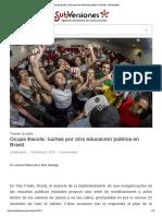 Ocupa Escola_ luchas por otra educación pública en Brasil _ SubVersiones