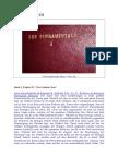 Die Fundamente (3) - Die Gottheit Jesu Christi