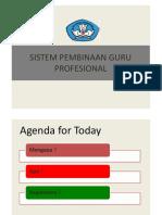 Sistem Pembinaan Guru Professional