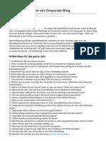 52 Artikel-Ideen für ein Corporate Blog