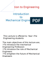 Introduction to Engineering_Mechanical Engineering