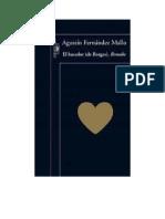 Fernandez Mallo Agustin - El Hacedor de Borges - Remake