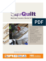 SuperQuilt Roof