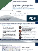 HR Analytics by Raman V Nathan