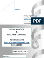 GSIB Web Analytics & Machine Learning by Ram Mukkavilli