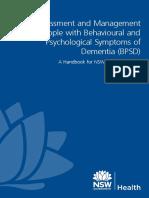 A Handbook for NSW Health Clinicians BPSD June13 WEB