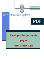 Lecture 4 Executing an assembly program.pdf