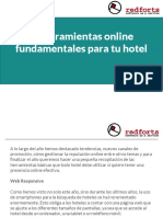 5 Herramientas online fundamentales para tu hotel