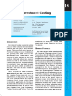 investment casting calculations