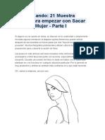 Guía Posando Mujer 1