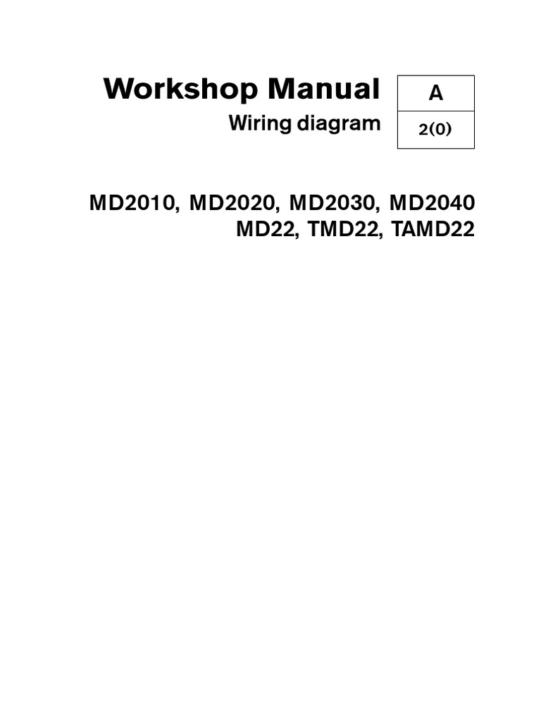 Volvo Md22 Wiring Diagrams Pdf