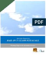 Mercados Financieros. BAIL-IN Y GLASS-STEAGALL