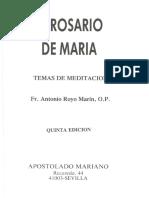 ROYO MARIN, A-El Rosario de Maria