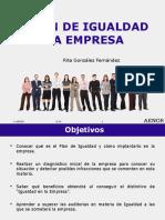 Presentacion Plan de Igualdad