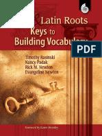 Rasinski, Timothy & Padak, Nancy - Greek & Latin Roots. Keys to Building Vocabulary (2008)