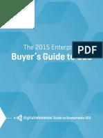 2015 Enterprise SEO Buyers Guide