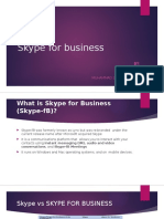 Skype for Business-update