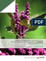 Caracterización y Diagnóstico de La Cadena de Valor de La Quinoa en Argentina