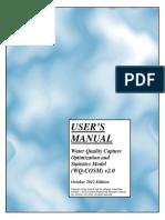 WQCOSM Users Manual 2013