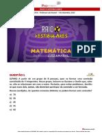 Raio x Vestibulares Matematica Amaral
