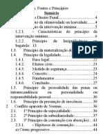 [Penal] 01.02. Princípios Do Dir. Penal