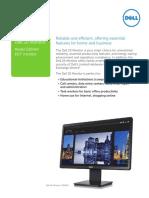 Dell 20 Monitor e2014h