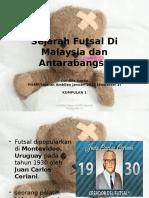 Sejarah Futsal Di Malaysia Dan Antarabangsa