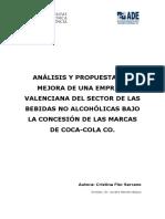 Analisis de fabricacion de bebidas gaseosas