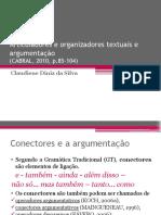 Articuladores e Organizadores Textuais e Argumentação