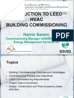 ASHRAE Intro to LEED NC Building Commissioning EMS 30mins