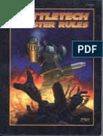 Battletech - Battletech Master Rules