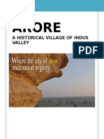 Anthropological study of village Arore