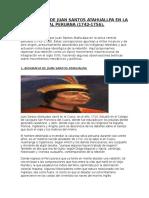 Biografiade Juan Santos Atahualpa