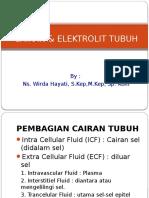 Cairan Dan Elektrolit Tubuh