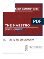 The Maestro Fascination Advantage Report