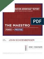 The Maestro Fascination Advantage Report