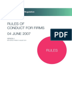 RICS Rules for Firms
