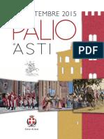 Palio Asti 2015 Opuscolo