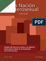 La Nacion Heterosexual. Ochy Curiel