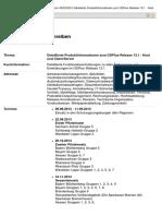 Release 13.1 Organisationsrundschreiben Nr. 331_2013 Vom 08-23-2013
