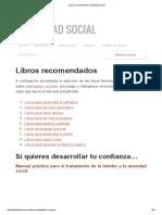 Libros Recomendados _ Habilidad Social