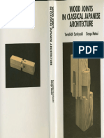 Wood Joints in Classical Japanese Architecture