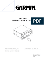 Garmin GPS 165 Installation Manual