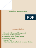 1. Inventory Management - Shared