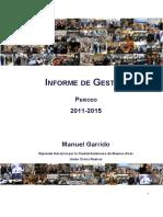 Informe de Gestión Manuel Garrido