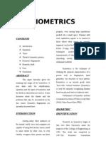Biometrics b